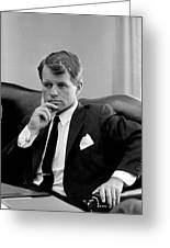 Robert Kennedy  Greeting Card by War Is Hell Store