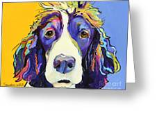 Sadie Greeting Card by Pat Saunders-White