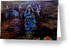 Salubong Greeting Card by Jo Mari Montesa