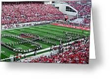 Script Ohio Greeting Card by Peter  McIntosh