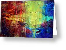 Shadows Of The Dream I Greeting Card by Lolita Bronzini