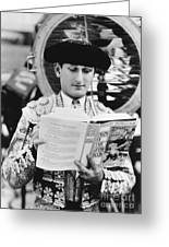 Sidney Franklin (1903-1976) Greeting Card by Granger
