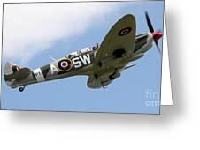 Spitfire Greeting Card by Angel  Tarantella