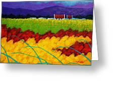 Spring Meadow Greeting Card by John  Nolan
