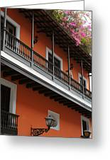 Streets Of Old San Juan Greeting Card by Stephen Anderson