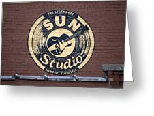 Sun Studio Memphis Tennessee Greeting Card by Wayne Higgs