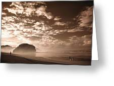 Sunrise Greeting Card by Mario Bennet