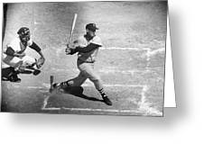 Ted Williams (1918-2002) Greeting Card by Granger