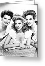 The Andrews Sisters Greeting Card by Granger