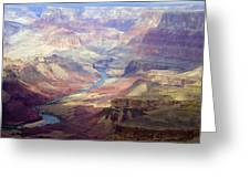 The Colorado River And The Grand Canyon Greeting Card by Annie Griffiths