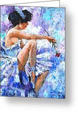 The Dancer Greeting Card by Igor Postash