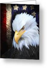 The Patriot Greeting Card by Joel Payne