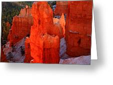 Thor's Hammer in Bryce Canyon Greeting Card by Pierre Leclerc Photography