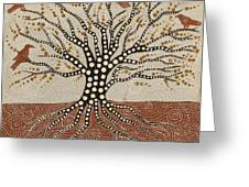 tree of Life Greeting Card by Sophy White