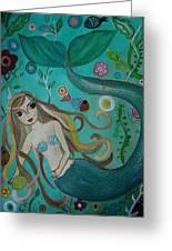 Under The Sea Greeting Card by Pristine Cartera Turkus