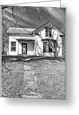 Visiting The Old Homestead Greeting Card by Guy Whiteley
