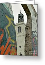 Westminster College Greeting Card by David Bearden