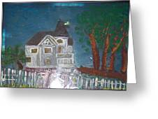 wHITE hOUSE 2 Greeting Card by Maggie Cruser