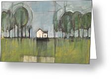 White House Greeting Card by Tim Nyberg