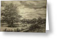 Wickliffe Landscape  Greeting Card by Debi Frueh