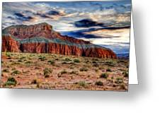 Wild Horse Mesa Greeting Card by Utah Images