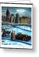 Winter Wonderland Greeting Card by Tracy Dennison