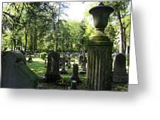 18th Century Cemetery In Virginia Greeting Card by Don Struke