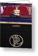 1907 Panhard Et Levassor Hood Ornament 2 Greeting Card by Jill Reger