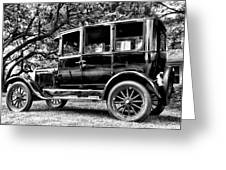 1926 Ford Model T Greeting Card by Bill Cannon
