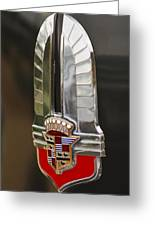 1930's Cadillac Emblem Greeting Card by Jill Reger