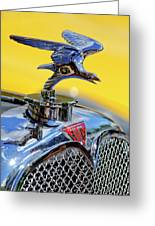 1932 Alvis Hood Ornament Greeting Card by Jill Reger