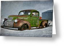 1946 Chevy Truck Greeting Card by Reflective Moment Photography And Digital Art Images