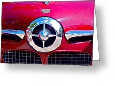 1950 Studebaker Champion Greeting Card by Karon Melillo DeVega