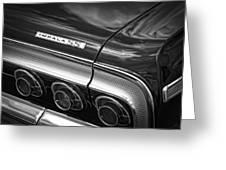 1964 Chevrolet Impala Ss Greeting Card by Gordon Dean II