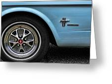 1964 Ford Mustang Greeting Card by Gordon Dean II