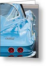 1967 Chevrolet Corvette 11 Greeting Card by Jill Reger
