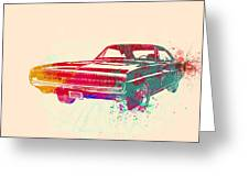 1970 Dodge Charger 1 Greeting Card by Naxart Studio