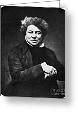 Alexandre Dumas (1802-1870) Greeting Card by Granger
