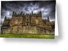 Bolsover Castle Greeting Card by Yhun Suarez