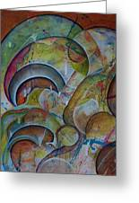 Cast Off Consciousness Series Greeting Card by Joey Dott
