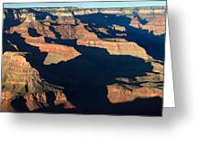 Grand Canyon National Park At Sunset Greeting Card by Pierre Leclerc Photography