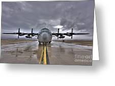 High Dynamic Range Image Of A U.s. Air Greeting Card by Terry Moore