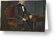 JAMES KNOX POLK (1795-1849) Greeting Card by Granger