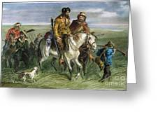 KANSAS-NEBRASKA ACT, 1856 Greeting Card by Granger