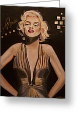 Marilyn Monroe  Greeting Card by Mikayla Henderson