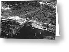 Nagasaki, 1945 Greeting Card by Photo Researchers