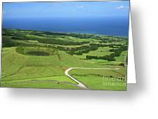 Sao Miguel - Azores Greeting Card by Gaspar Avila