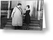 Silent Still: Weight Greeting Card by Granger