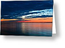 Sunset Greeting Card by Gert Lavsen