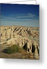 The Badlands Greeting Card by Brent Parks